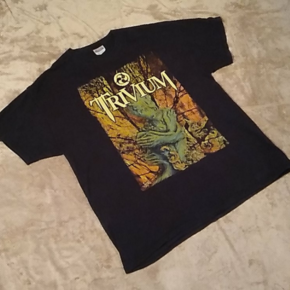 Hanes Other - Trivium heavy metal band tee
